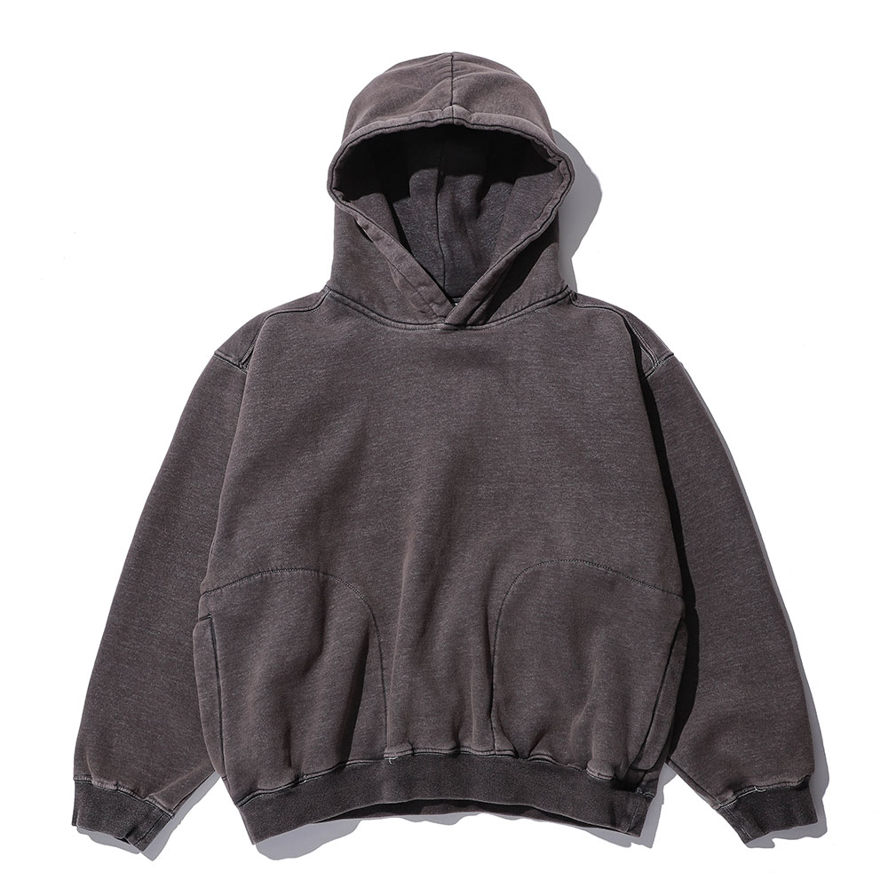 MULTI-PIGMENT HOODIE_charcoal